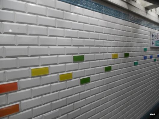 douleurs métro de Paris