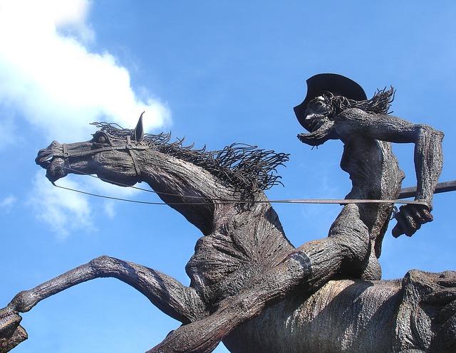 don-quixote-statue-677914_640