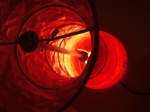lampe de sol chinoise