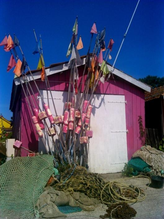 cabane du pêcher à l'ile d'oléron