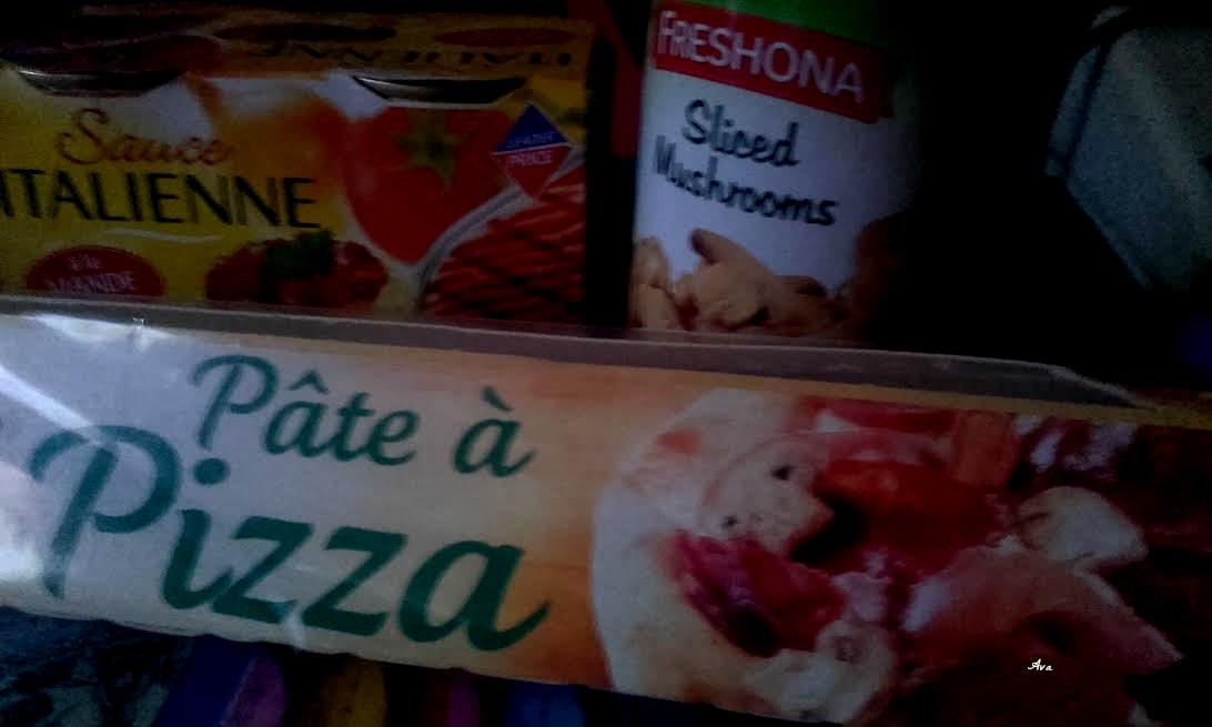 ingrédients pizza