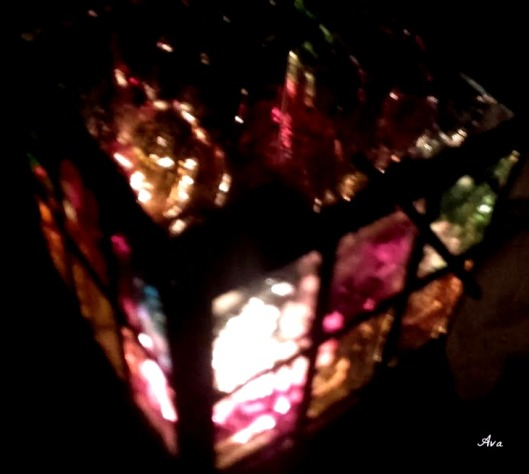 photophore vitrail