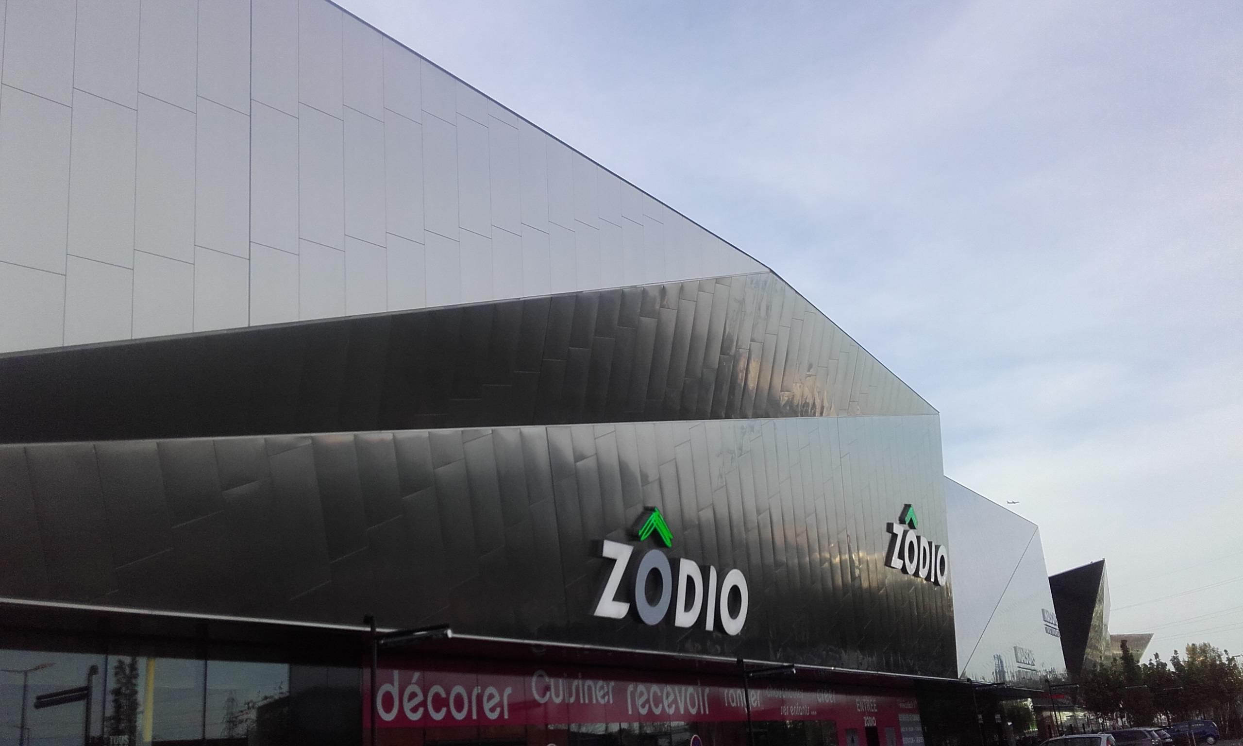 enseigne Zodio