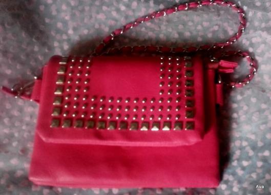 nouveau sac rose