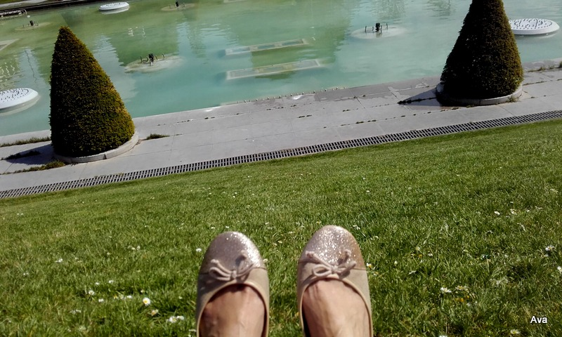 pieds au soleil