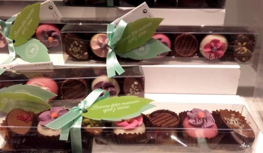 chocolats jeff de Bruges