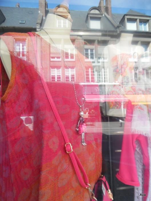 vitrines en rose
