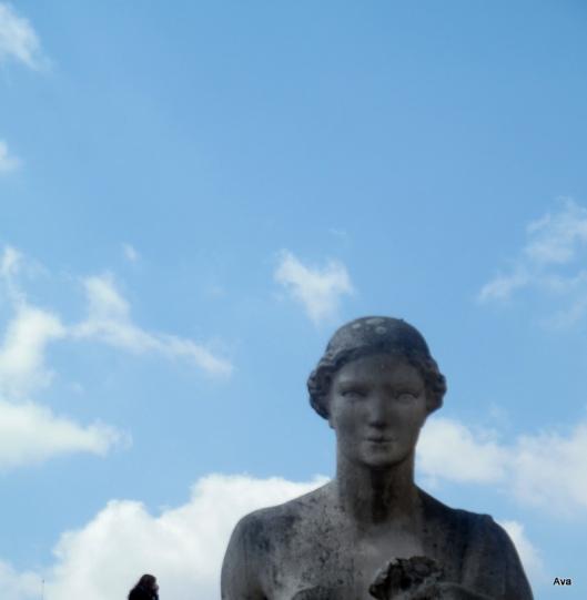 yeux de statue Trocadéro