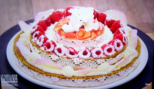 tarte aux fruits de Valérie Bègue