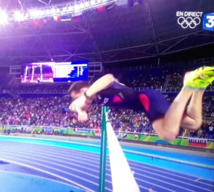 saut de Renaud Lavillenie JO Rio 2016
