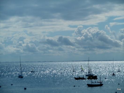bleu de la mer
