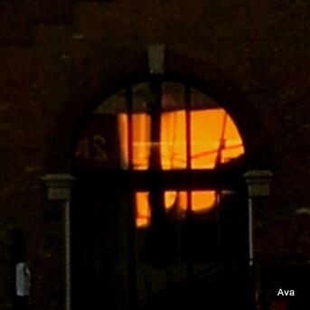 coucher de soleil à St Denis