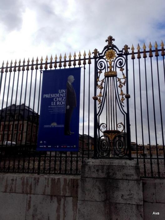 exposition à Versailles