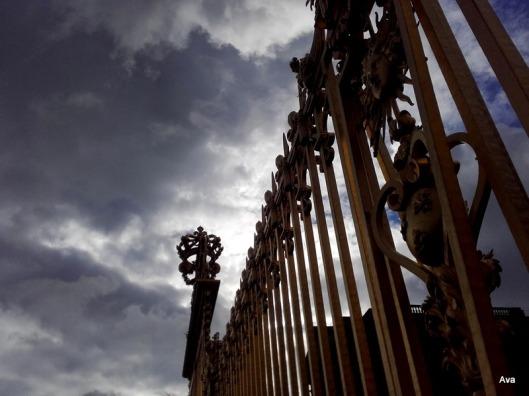 grilles du château de Versailles