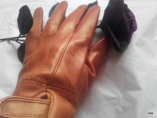 gants brun