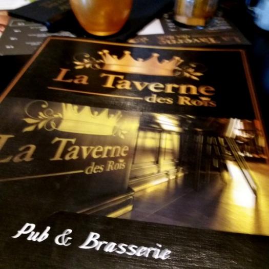 carte Taverne des Rois