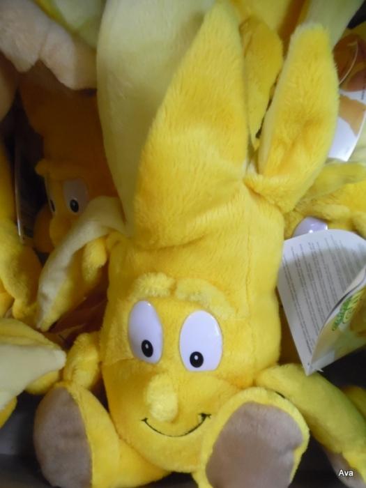peluche banane