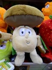 peluche champignon