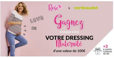 dressing de maternité
